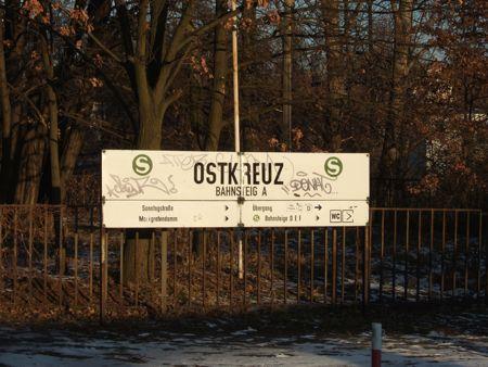 Berlin, Ostkreuz, Bahnsteig A