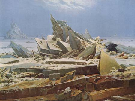C. D. Friedrich: Eismeer