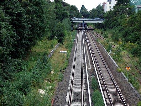 Bahnsteig Kolonnenstraße