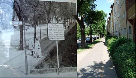 Bouchéstraße: Vorher/Nachher