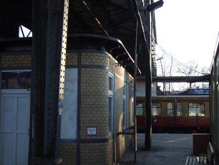 Ostkreuz, Bahnsgeig D, Blick nach E