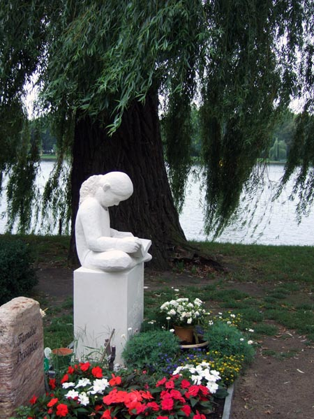 Stralauer Friedhof, Bofingers Grab