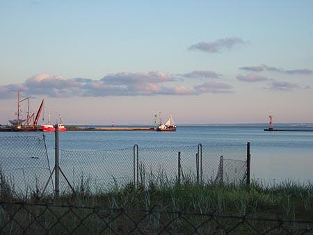 Im Hafen von Heisternest (Jastarnia) auf Hel (Hela)