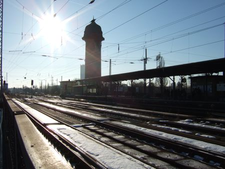 Ostkreuz: Kynaststraße, Blick Richtung Süden