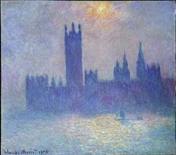 Claude Monet: Parlamentsgebäude in London