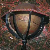 Das ist der Globus des Hodja Yusuf Xodjandi