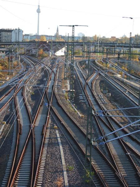 Gleise am Nordkreuz