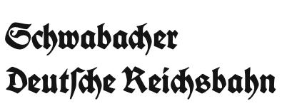 Schwabacher Deutsche Reichsbahn