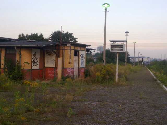 Ostkreuz Bahnsteig A, letzter Tag.