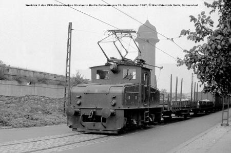 Die Stralauer Glaswerksbahn 1967