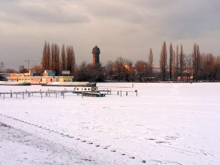Eis auf dem Rummelsburger See, Winter 2012